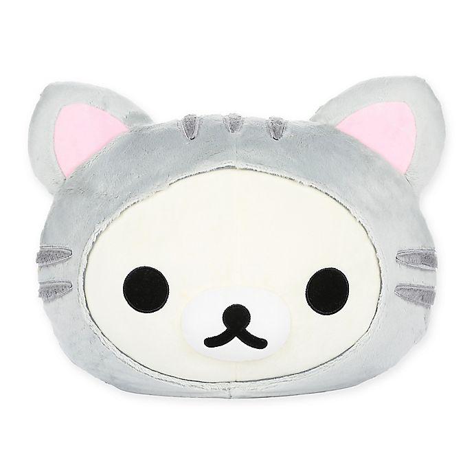 Alternate image 1 for Rilakkuma™ Korilakkuma Tiger Head Pillow