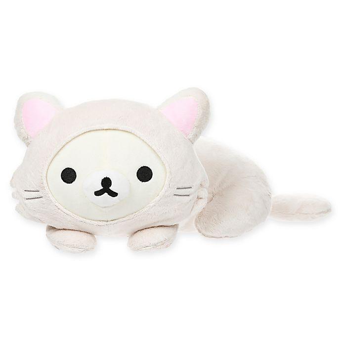 Alternate image 1 for Rilakkuma™ Korilakkuma Lay Down Cat Plush Toy