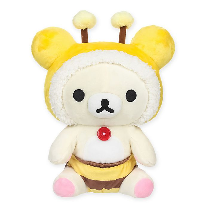 Alternate image 1 for Kiiroitori™ Honey Bee Plush Toy
