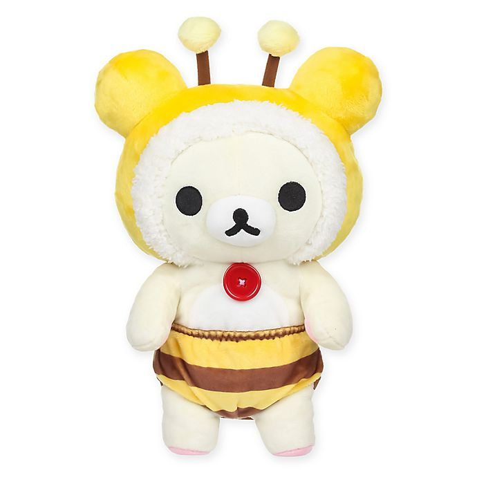 Alternate image 1 for Rilakkuma™ Korilakkuma Bee Plush Toy in Yellow