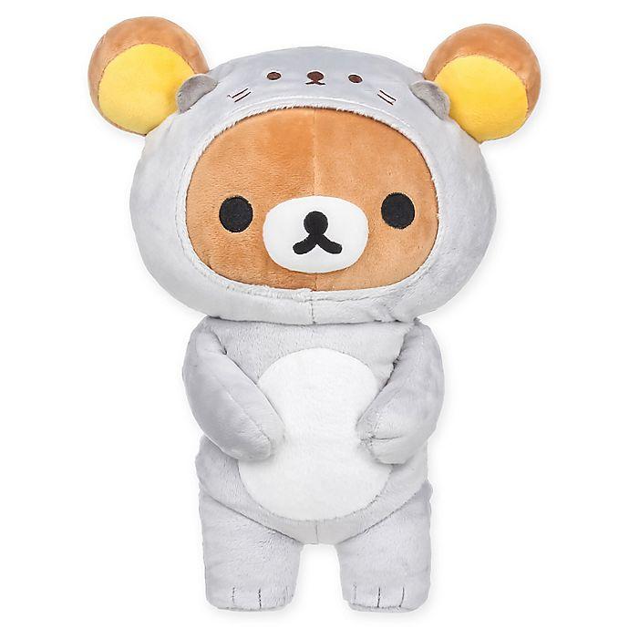Rilakkuma Bear Sea Otter Plush Toy Buybuy Baby
