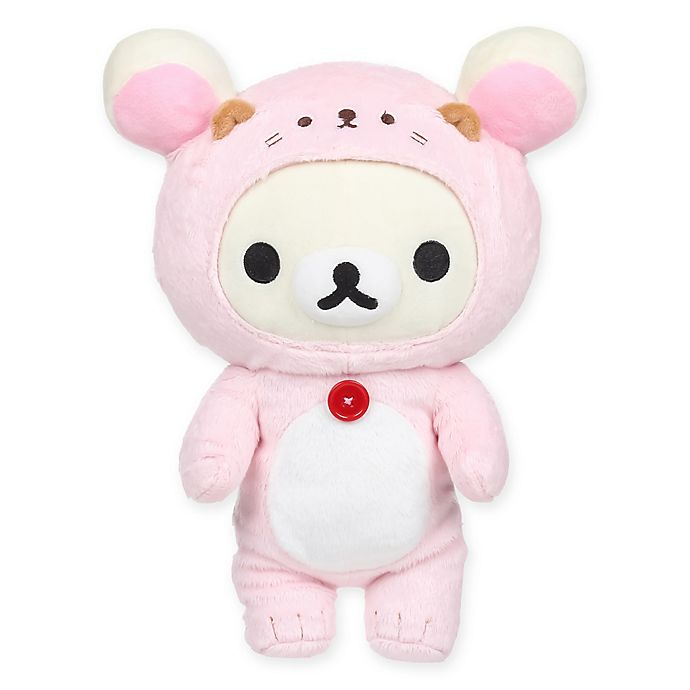 Rilakkuma Korilakkuma Sea Otter Plush Toy In Pink Bed Bath Beyond
