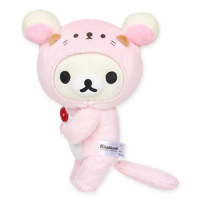 Alternate image 1 for Rilakkuma™ Korilakkuma Sea Otter 12-Inch Plush Toy in Pink