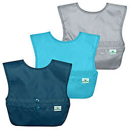 green sprouts® 3-Pack Snap & Go® Easy-Wear Bib Set