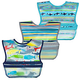 green sprouts® by i play.® 3-Pack Snap & Go Roll-Up Bibs