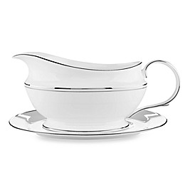 Lenox® Federal Platinum™ Gravy Boat and Stand