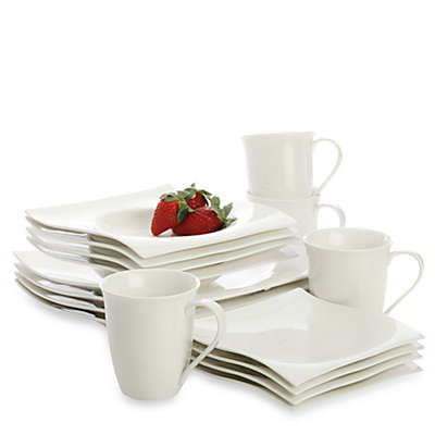 Maxwell & Williams™ White Basics Motion Dinnerware and Serveware Collection