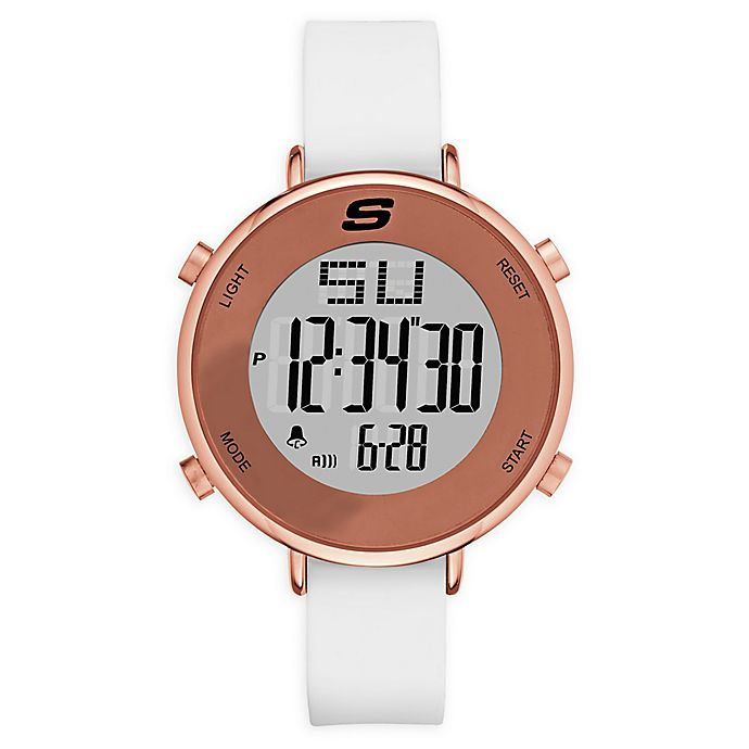 Alternate image 1 for Skechers® Magnolia Women's 40mm SR6066 Digital Watch