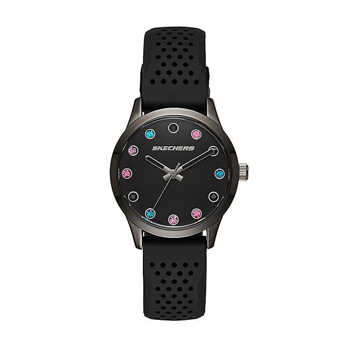 Alternate image 1 for Skechers® Dianthus Women's 33mm SR6091 Crystal Watch