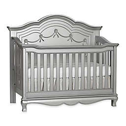 Baby Cache Adelina 4-in-1 Convertible Crib in Metallic Grey