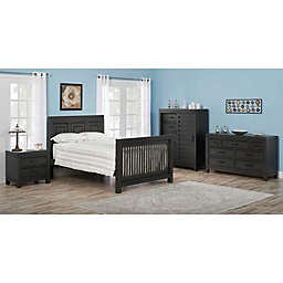 Soho Baby Manchester Nightstand in Black