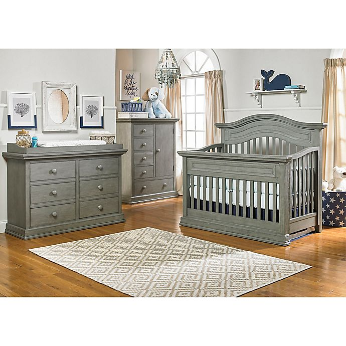 Alternate image 1 for Dolce Babi® Marco Nursery Furniture Collection in Nantucket Grey