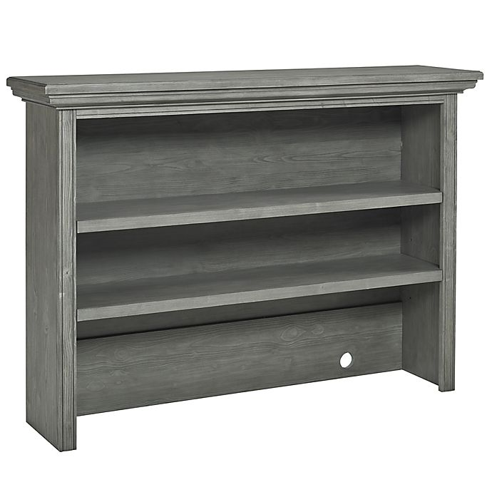Alternate image 1 for Dolce Babi® Marco Hutch/Bookcase in Nantucket Grey