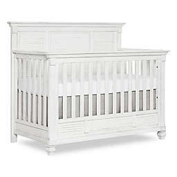 evolur™ Signature Cape May 5-in-1 Convertible Crib in Weathered White