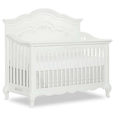 evolur™ Aurora 5-in-1 Convertible Crib in Frost