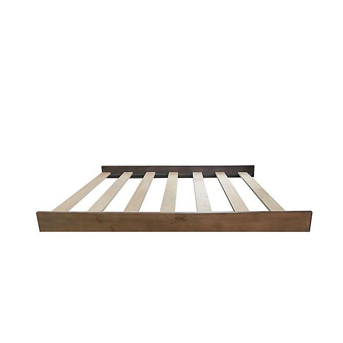 Alternate image 1 for Baby Appleseed® Rowan Full Size Bed Rails in Sandwash
