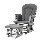 Child Craft™ Forever Eclectic™ Glider in Cool Grey with Ottoman