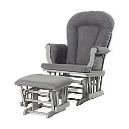 Child Craft™ Forever Eclectic™ Glider with Ottoman in Cool Grey