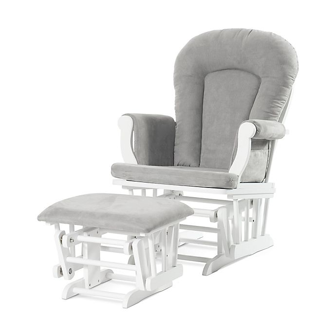 Alternate image 1 for Child Craft™ Forever Eclectic™ Glider with Ottoman