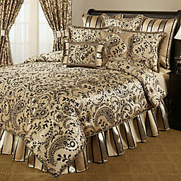 Austin Horn Classics 4-Piece Comforter Set - Savona Bedding Collection