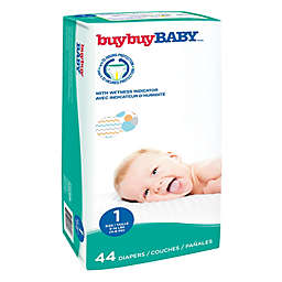 buybuy BABY™ 44-Count Size 1 Jumbo Diapers in Chevrons and Circles