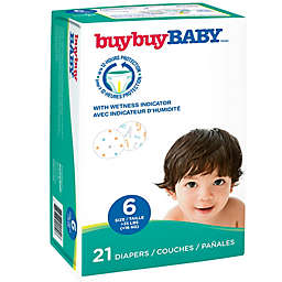 buybuy BABY™ 21-Count Size 6 Jumbo Diapers in Letters and Dots