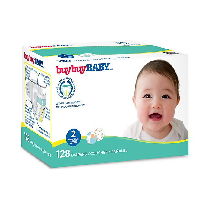buybuy BABY™ 128-Count Size 2 Club Box Diapers in Circles ...