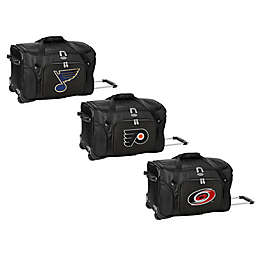 NHL 22-Inch Wheeled Carry-On Duffle Bag Collection