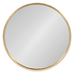 Kate and Laurel® Travis Round Wall Mirror