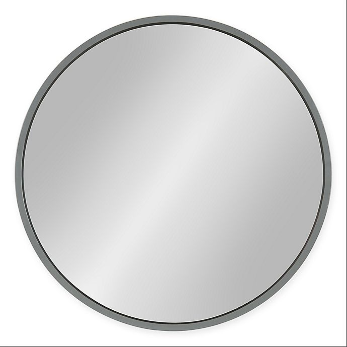 Alternate image 1 for Kate and Laurel® Travis Round Wall Mirror