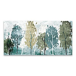 Abstract Forest 15-Inch x 30-Inch Canvas Wall Art