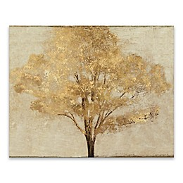Gold Umber Landscape 16-Inch x 20-Inch Canvas Wall Art