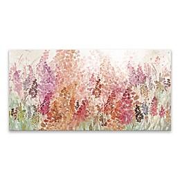Floral Haze 15-Inch x 30-Inch Canvas Wall Art