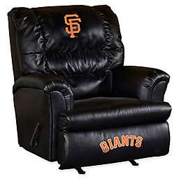 MLB San Francisco Giants Recliner in Black/Orange