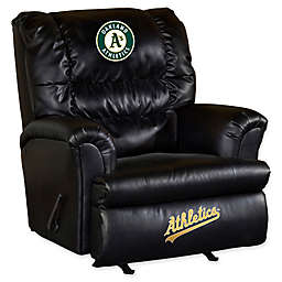 MLB Oakland A's Recliner in Yellow/Green