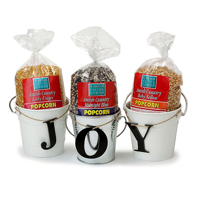 Alternate image 1 for Wabash Valley Farms™ 6-Piece Popcorn and Bucket Gift Set