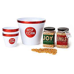 Wabash Valley Farms™ 5-Piece Joy and Jingle Popcorn Kernel and Bucket Set