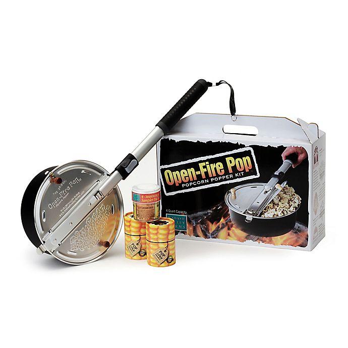 Alternate image 1 for Open Fire Outdoor Popcorn Popper Set