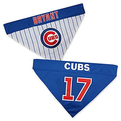 MLB Chicago Cubs Kris Bryant Reversible Pet Collar Bandana