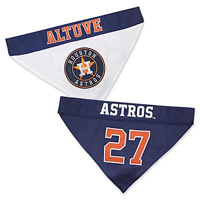 MLB Houston Astros Jose Altuve Reversible Pet Collar Bandana