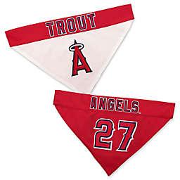 MLB Los Angeles Angels Mike Trout Reversible Pet Collar Bandana