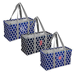 MLB Quatrefoil Picnic Caddy Collection
