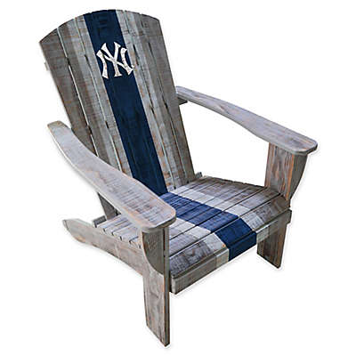 MLB Distressed Wood Adirondack Chair Collection