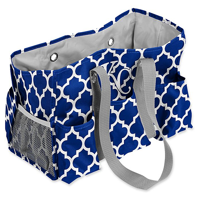 Alternate image 1 for MLB Kansas City Royals Quatrefoil Junior Caddy