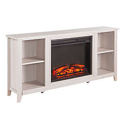 Southern Enterprises Parkdale Electric Fireplace TV Stand