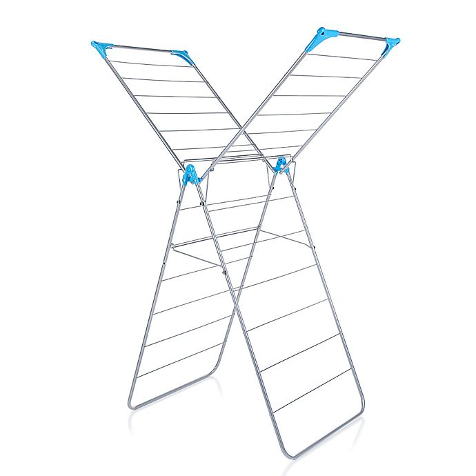 Alternate image 1 for Minky Homecare X-Wing Indoor Drying Rack