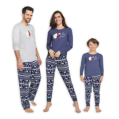 ED Ellen DeGeneres Polar Bear Family Holiday Pajama Collection