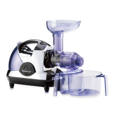 Kuvings 174 Masticating Slow Juicer In Chrome Bed Bath Amp Beyond