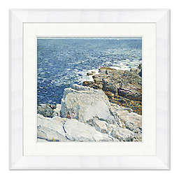 By the Coast 35-Inch Square Framed Wall Art