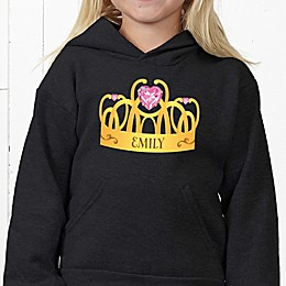 Princess Hanes® Youth Hooded Sweatshirt